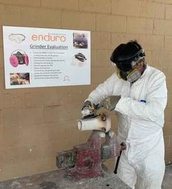 Enduro grinding  safety