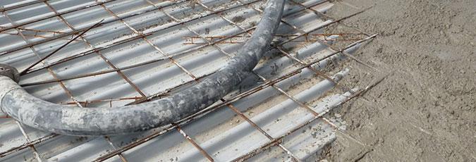 Fiberglass Form Deck