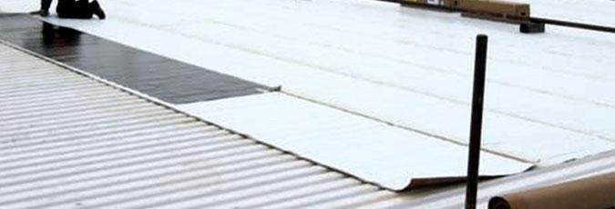 Commercial Fiberglass (FRP) Roof Deck
